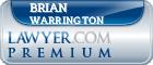 Brian P. Warrington  Lawyer Badge