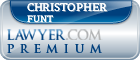Christopher Funt  Lawyer Badge