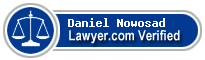 Daniel J Nowosad  Lawyer Badge