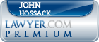 John A Hossack  Lawyer Badge
