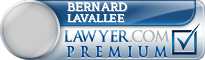Bernard C Lavallee  Lawyer Badge