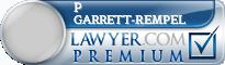 P James Garrett-Rempel  Lawyer Badge