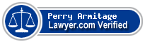 Perry Armitage  Lawyer Badge