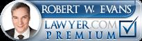 Robert W. Evans  Lawyer Badge