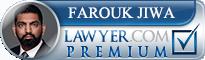 Farouk Jiwa  Lawyer Badge