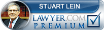 Stuart J Lein  Lawyer Badge