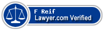 F Gregory Reif  Lawyer Badge
