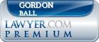 Gordon D.S. Ball  Lawyer Badge