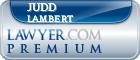 Judd Lambert  Lawyer Badge