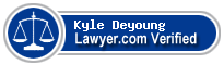 Kyle Deyoung  Lawyer Badge