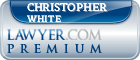 Christopher White  Lawyer Badge