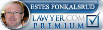 Estes Bain Fonkalsrud  Lawyer Badge