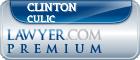 Clinton Harrison Culic  Lawyer Badge