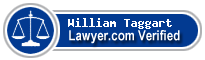 William Jesse Taggart  Lawyer Badge