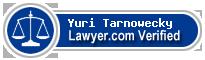 Yuri Tarnowecky  Lawyer Badge