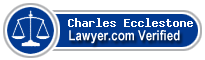 Charles Edward John Bennett Ecclestone  Lawyer Badge