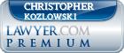 Christopher Henry Kozlowski  Lawyer Badge