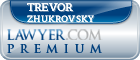 Trevor Stefan Zhukrovsky  Lawyer Badge
