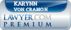 Karynn Lee Von Cramon  Lawyer Badge