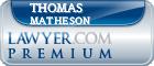 Thomas A. Matheson  Lawyer Badge