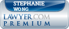 Stephanie Anne Wong  Lawyer Badge