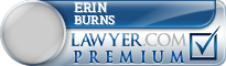 Erin Kathleen Burns  Lawyer Badge