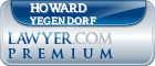 Howard Yegendorf  Lawyer Badge