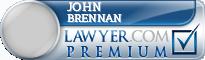 John A. Brennan  Lawyer Badge