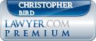 Christopher Harley Bird  Lawyer Badge