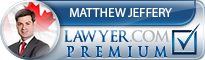 Matthew James Jeffery  Lawyer Badge