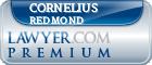 Cornelius Redmond  Lawyer Badge