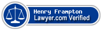 Henry W Frampton  Lawyer Badge