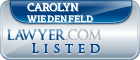 Carolyn Wiedenfeld Lawyer Badge