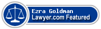 Ezra N. Goldman  Lawyer Badge