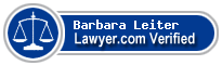 Barbara Jean Leiter  Lawyer Badge