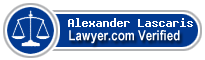 Alexander Dimitri Lascaris  Lawyer Badge