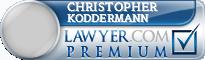 Christopher John Koddermann  Lawyer Badge