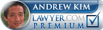 Andrew Y. Kim  Lawyer Badge