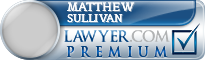 Matthew Stephen Sullivan  Lawyer Badge