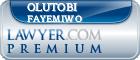 Olutobi Daniel Fayemiwo  Lawyer Badge