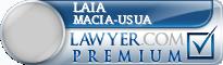 Laia Macia-Usua  Lawyer Badge