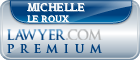 Michelle May Le Roux  Lawyer Badge
