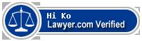 Hi Chong Ko  Lawyer Badge