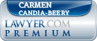 Carmen Astrid Candia-Beery  Lawyer Badge