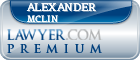 Alexander Raymond Mclin  Lawyer Badge