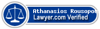 Athanasios Rousopoulos  Lawyer Badge