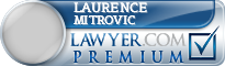 Laurence Mitrovic  Lawyer Badge