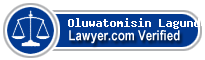 Oluwatomisin Wemimo Lagundoye  Lawyer Badge