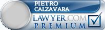 Pietro Calzavara  Lawyer Badge