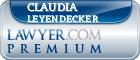 Claudia Leyendecker  Lawyer Badge